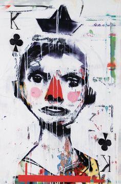 Communication Agency, Illustration Art, Illustrations, Tarot, Graffiti, Contemporary Art, Street Art, Sculptures, Joker