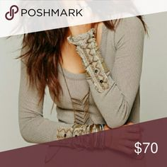 COMING SOON Free people mushroom kyoto coming soon size small perfect condition Free People Tops Tees - Long Sleeve