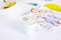 MY FAVOURITE SMOOTHIE // Millamour Glass Of Milk, Smoothies, Juices, Drinks, Tableware, Food, Smoothie, Drinking, Beverages