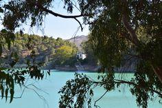 The lakes near El Chorro, Spain