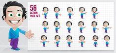 Charming Boy Cartoon Characters #cartooncharacter #vectorcharacter #character
