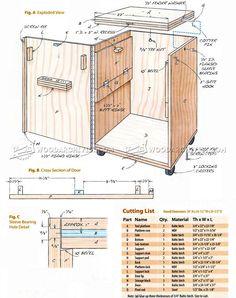 DIY Flip Top Tool Stand - Workshop Solutions