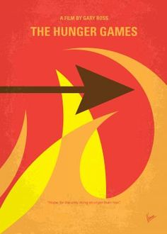 No175-1 My The Hunger Games minimal movie posterKatniss Everdeen voluntarily takes her younger sisters place in the Hunger Games, a televised fight to the death in which two teenagers from each of the twelve Districts of Panem are chosen at random to compete.  Director: Gary Ross Stars: Jennifer Lawrence, Josh Hutcherson, Liam Hemsworth