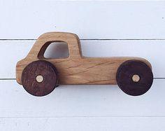 Wooden Car, Wood Toy, Wooden Toy, Waldorf Toy, Toy Car, Push Car