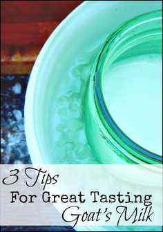 3 Tips for the BEST Tasting Goat's Milk l Hobby Farms Online l Tessa Zundel