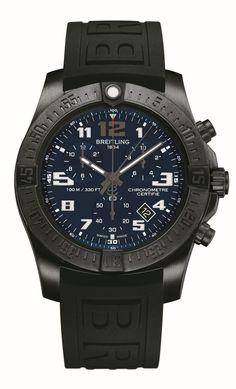 TimeZone : Industry News » N E W M o d e l - Breitling Chronospace Evo Night Mission