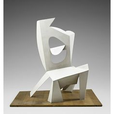 Pablo Picasso (Spanish, Chair Cannes, 1961 Painted sheet metal 45 × 45 × 35 in. × × 89 cm) Musée national Picasso–Paris © 2015 Estate of Pablo Picasso/Artists Rights Society (ARS), New York Sculpture Museum, Modern Sculpture, Abstract Sculpture, Sculpture Art, Art Museum, Kunst Picasso, Art Picasso, Georges Braque, Art Furniture