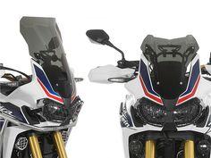 Um aspecto mais agressivo e aventureiro a par com uma melhor protecção aerodinâmica.