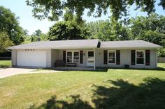 Cul-De-Sac lot and wooded, private setting for this wonderful 3 BR, 2 Bath Ranch!