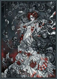 Steampunk Emilie Autumn!!!