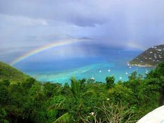 Rainbow,  St Thomas USVI... This is heaven!?!?! I want to move here soon bad