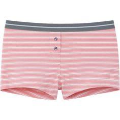 Uniqlo - WOMEN BOY SHORT (STRIPE) - Size: M - Color: 11 PINK