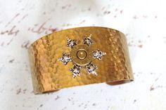 Bullet Cuff Bracelet by RiversEdgeCreations on Etsy  $30.00