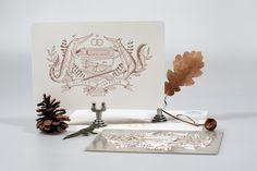 #waldundschwert #wedding #invitation #letterpress #stationary #papeterie #waldundschwert.com