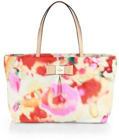 Kate Spade New York Carrol Park Small Evie Printed Nylon Shoulder Bag  Summer Office 283208a5f3273