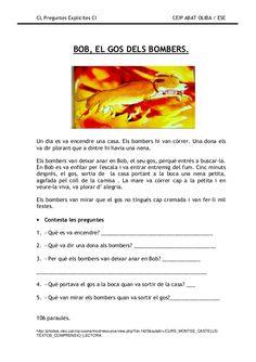 Preguntes explicites Comprehension, Valencia, Activities, Education, Khalid, School, Reading Comprehension, Educational Illustrations
