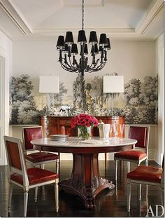 Brooke Shields' Dining Room