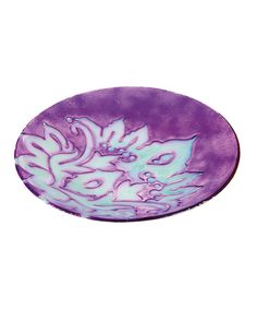 Look at this Paisley Glow-in-the-Dark Birdbath on #zulily today!