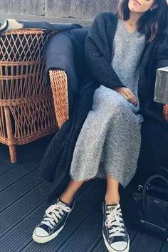 Winter fashion Wear winter clothes and skillfully combine - everyday fashion - Winter Mode Mode Outfits, Fall Outfits, Casual Outfits, Fashion Outfits, Womens Fashion, Fashion Trends, Outfit Winter, Dress Winter, Outfit Summer