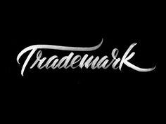 A most handsome typeface: Trademark by Neil Secretario