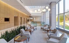 Memorial Sloan Kettering Cancer Center: West Harrison Project Featuring Shaw Contract Commercial Flooring Shaw Contract