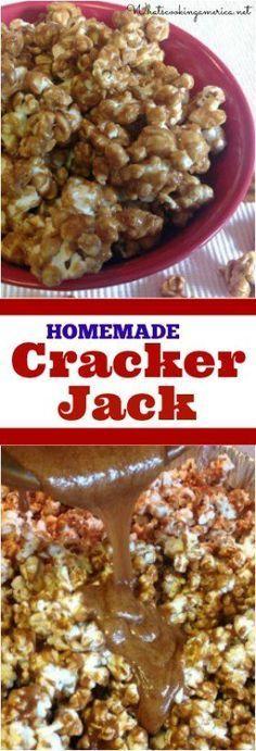 Cracker Jack popcorn snack