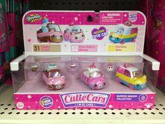Shopkins Cutie Cars three pack.