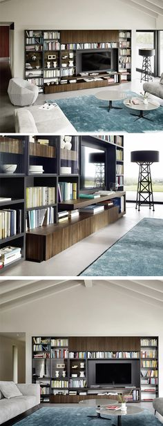 Novamobili Wandregal Horizon armchair Pinterest Armchairs - designer mobel bucherregal