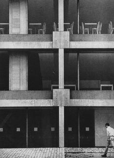 fuckyeahbrutalism:  Student Union Building, Duquesne University, Pittsburgh, Pennsylvania, 1968 (Paul Schweikher Associates)