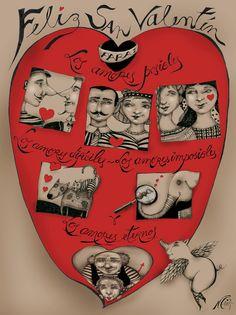 Nerina Canzi Ilustraciones: SAN VALENTÍN - 2014