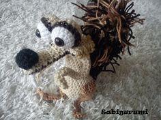 mm mon chouchou dans l'age de  glace ^^ #crochet