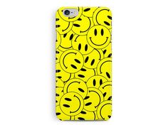 SMILEY FACE iPhone Case 90s Rave acid shirt by TheSmallPrintCases