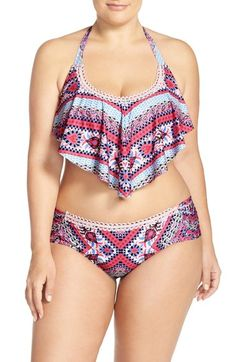 This year, it's all about the #flounce ... Sexiest thing the swimwear industry has done in a long time.