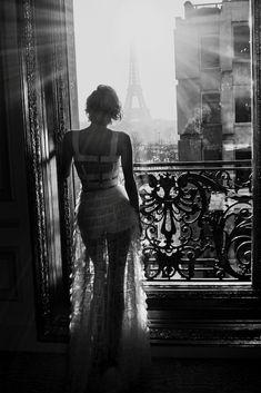 Diane Kruger wearing Dior, by Ellen von Unwerth, Paris
