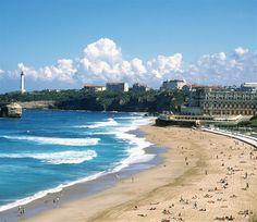 ** Biarritz beach / France