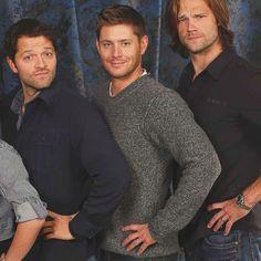 Cas, dean, Sam ~ those 3 super wonder boys ^^ haha