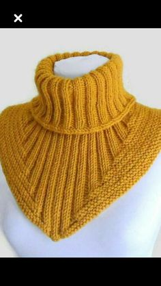 Men scarf cowl neck warmer knit collar soft hand by likeknitting , Knitting for all - 13066251 - the Cachalot the Shirtfront., Knitting for all, club and a forum for communication - the Cachalot Knitting Patterns Unisex Womens Mens fashion scarf Very warm Knitting Socks, Free Knitting, Baby Knitting, Knitted Hats, Knitting Scarves, Knitting Needles, Poncho Crochet, Crochet Jacket, Neck Warmer