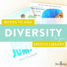 Books to add Diversity to your Speech Library - The Speech Bubble