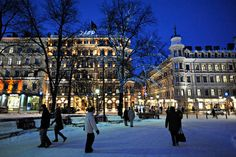 Christmas Markets are a Solid Reason to Brave the Cold in Helsinki - in Esplanadi Park, Helsinki
