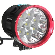 Sale 28% (40.13$) - 8xLED XM-LT6 L2 Bicycle Bike Light Headlight Headlamp Set