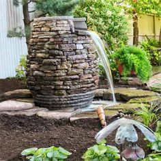 Garden Fountain from the 2012 this old house reader remodel ways you wowed us