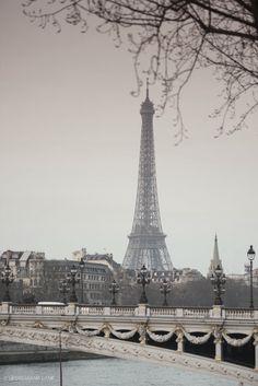 Le Pont Alexandre III et la Tour Eiffel, by Georgianna Lane. Torre Eiffel Paris, Pont Paris, Louvre Paris, Paris Eiffel Tower, Montmartre Paris, Eiffel Towers, From Paris With Love, I Love Paris, Oh The Places You'll Go