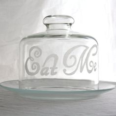 Eat Me Covered Cake Stand