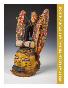 Algemene achtergronden bij Afrikaanse kunst, bevat onder meer een Chiwara, Dogon en Sande masker.