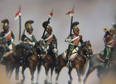 French Line Lancers (own resin cast)
