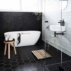 Tiles have enduring appeal for their functional and aesthetic qualities, and the choice available is dizzying. Ceramic, porcelain, natural, handmade or glass? Lantern, penny rounds, hexagonal or fish scales? So how do you make a statement with tiles? First, decide on the mood or style of bathroom you want to create. For example, if your home is contemporary, carry this look through to the bathroom. Next, choose a show-stopping tile as the feature of the room and keep other tiles simple and…
