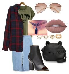 """S.S 23"" by biekatapang on Polyvore featuring Steve J & Yoni P, Rails, Loungefly, H&M and Lime Crime"
