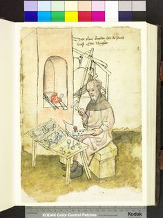 Nail maker 1425  Die Hausbücher der Nürnberger Zwölfbrüderstiftungen