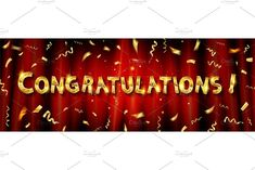 Congratulations Pictures, Red And Blue, Shower, Logo, Cards, Prints, Rain Shower Heads, Logos, Showers