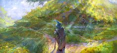 hobbit or there and back again by *Pervandr on deviantART.   Artist: Andrei Pervukhin .   Please more impressionist and/or expressionist #Hobbit.
